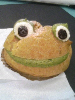 笑うカエルちゃん♪