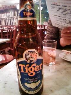 タイガービール。
