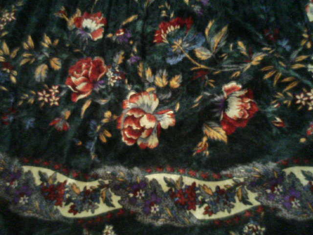 ちょっぴりゴージャスな絨毯。
